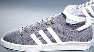 adidas Consortium Campus 80s Primeknit Grey/Running White