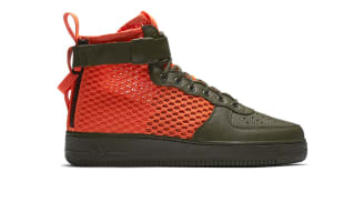 "Nike Special Field Air Force 1 Mid ""Total Crimson"""