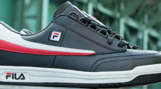 Fila Original Tennis Black/White-Fila Red