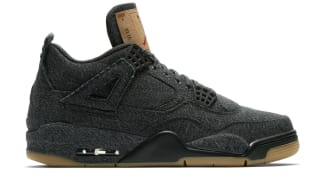 "Air Jordan 4 Retro ""Black Denim"""