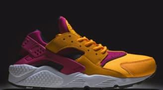 Nike Air Huarache LE Laser Orange/Fuchsia Pink
