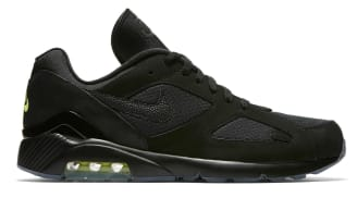 Nike Air Max 180 Black/Black-Volt