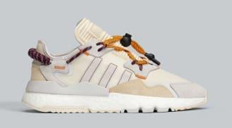 Ivy Park x Adidas Nite Jogger Ecru Tint/Dash Grey/Solar Orange