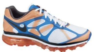 Nike Air Max+ 2012 White/Black-Bright Mango-Bright Blue