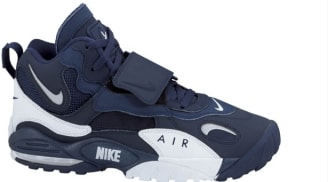 sports shoes 7e4a7 33c5e Nike Air Max Speed Turf Midnight NavyMetallic Silver-White