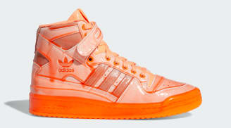"Jeremy Scott x Adidas Forum High ""Signal Orange"""