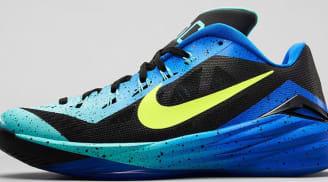 6e891cea7381 Nike Hyperdunk 2014 Low Dark Grey Hyper Turquoise-Volt