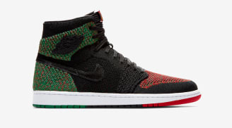 "Air Jordan 1 Retro High Flyknit ""BHM"""