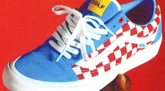 Vans Syndicate Old Skool Blue/White-Red