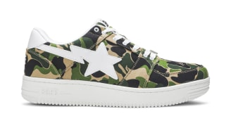 "A Bathing Ape Bapesta Low ""ABC Camo"""