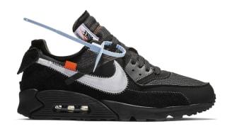 Off-White x Nike Air Max 90 Black/Cone-White-Black