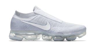 "Nike Air VaporMax Laceless ""Pure Platinum"""