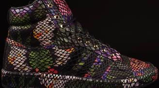 adidas Top Ten Hi Black/Black-Floral