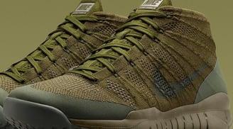 Nike Flyknit Trainer Chukka SFB Sage/Sage-Rough Green