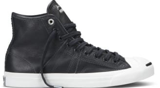 Converse FS Jack Purcell Johnny Mid Black/White