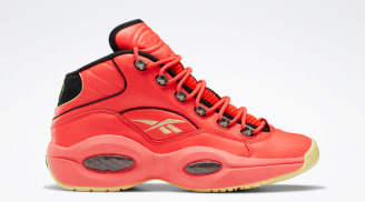 Hot Ones x Reebok Question Mid Red/Black/Yellow Filament