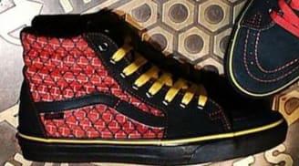 Vans SK8 Hi Black/Red