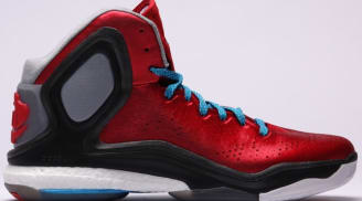 004f89ae182 adidas D Rose 5 Boost Scarlet Solar Blue-Core Black