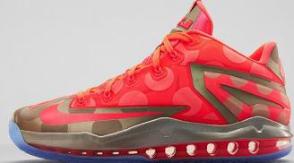 Nike LeBron 11 Low SE Metallic Zinc/Hyper Punch-Ice