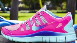 Bella's Nike Free Run 5.0 Women's DB Doernbecher