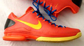 Nike KD 5 Elite Team Orange