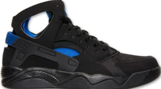 13e087cc426b Nike Air Flight Huarache Black Lyon Blue
