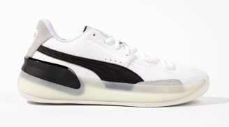 Puma Clyde Hardwood White/Black