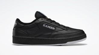 """Eames x Reebok Club C """"Monotone Black"""""""