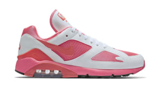 Nike Air Max 180 x Comme des Garcons Laser Pink/Solar Red-White