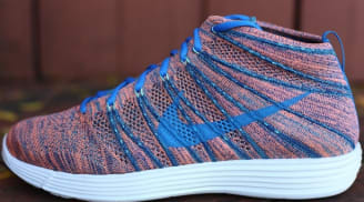 Nike Lunar Flyknit Chukka Brave Blue/Photo Blue-Mineral Teal-Green Glow-Atomic Pink-Sail