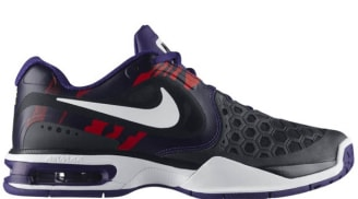 reputable site de902 e11e8 Nike Air Max Courtballistec 4.3 BlackWhite-Court Purple