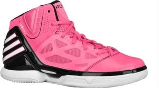 adidas adiZero Rose 2.5 Girl's Pink/Black-Running White