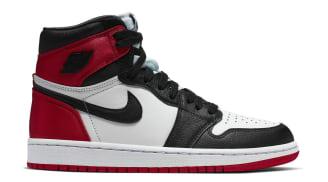 Air Jordan 1 Retro Women's (Satin Black Toe)