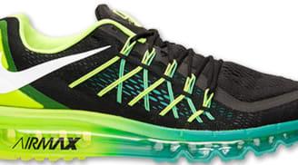 Nike Air Max 2015 Black/White-Volt-Hyper Jade