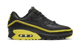 Undefeated x Nike Air Max 90 Black/Optic Yellow