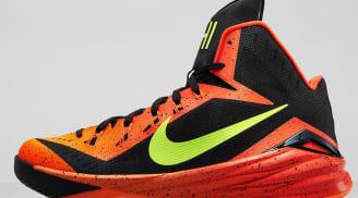 Nike Hyperdunk 2014 Dark Grey/Hyper Crimson-Volt