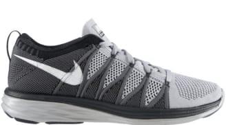 Nike Flyknit Lunar2 Wolf Grey/White-Dark Grey-Black