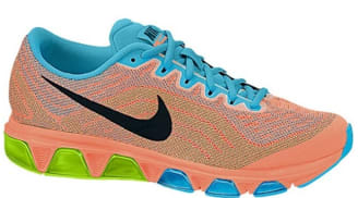 new arrival 65e09 8eb71 Nike Air Max Tailwind 6 Women s Atomic Orange Black-Gamma Blue-Volt