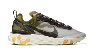 Nike React Element 87 Moss/Black-El Dorado-Deep Royal Blue