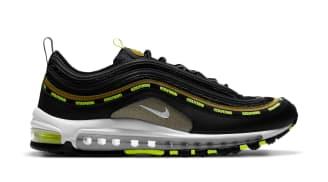 Undefeated x Nike Air Max 97 Black/Volt-Militia Green-White (Volt)