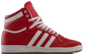 adidas Originals Top Ten Hi Collegiate Red/Running White