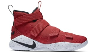 Nike LeBron Soldier 11 University Red/Black-White-Total Crimson