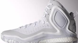 adidas D Rose 5 Boost White/Light Onix-White