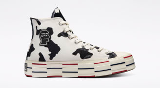 Brain Dead x Converse Chuck 70 High Egret/Black/French Roast