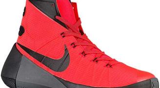 Nike Hyperdunk 2015 Bright Crimson/Black-Dark Grey