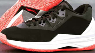 Li-Ning Way Of Wade 4 Black/White-Lava