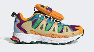 Sean Wotherspoon x Adidas Superturf Adventure Mesa/Halo Amber/Glory Purple