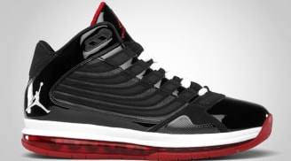 more photos eab81 e7b6f Jordan Big Ups Black White-Varsity Red
