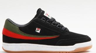 Fila Original Tennis Black/Green-Fila Red