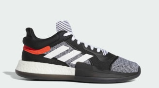 Adidas Marquee Boost Low Core Black/Cloud White/Solar Red